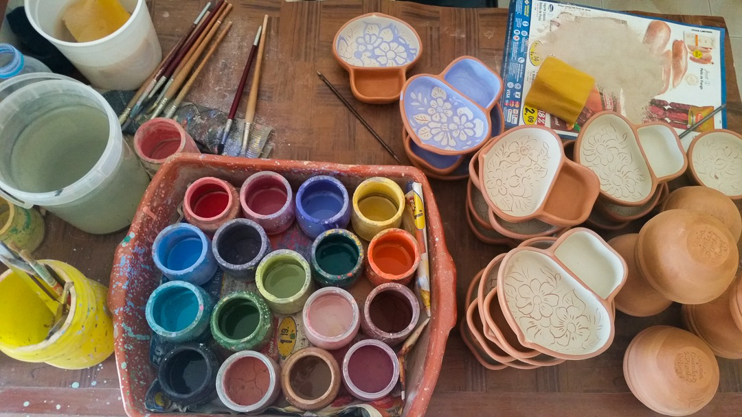 São Pedro de Corval painting pottery
