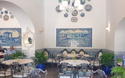 DaRosa, the prettiest café in the Algarve