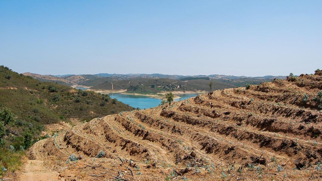 Santa Clara reservoir
