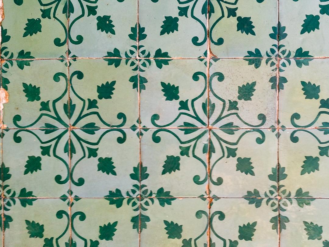 green azulejos