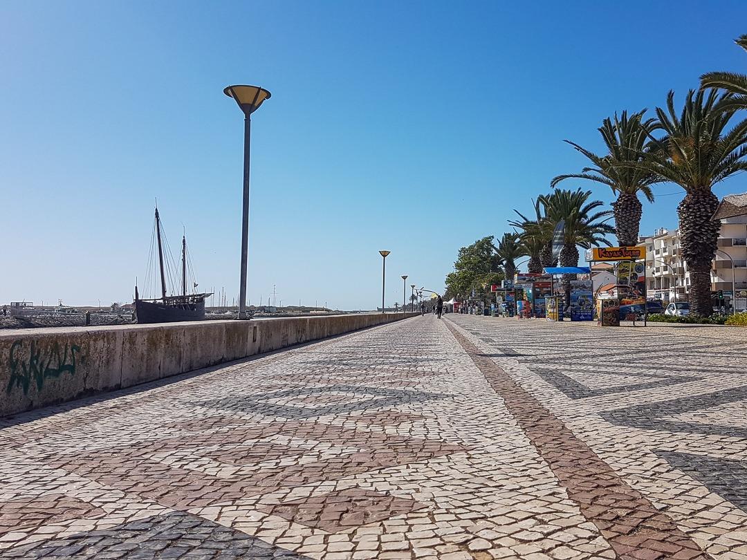 calçada portuguesa Lagos Algarve